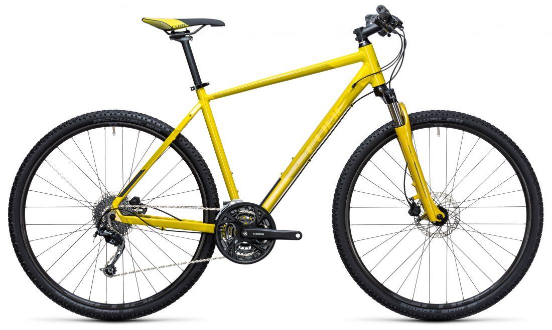 Городской велосипед Cube Curve Pro (2017)