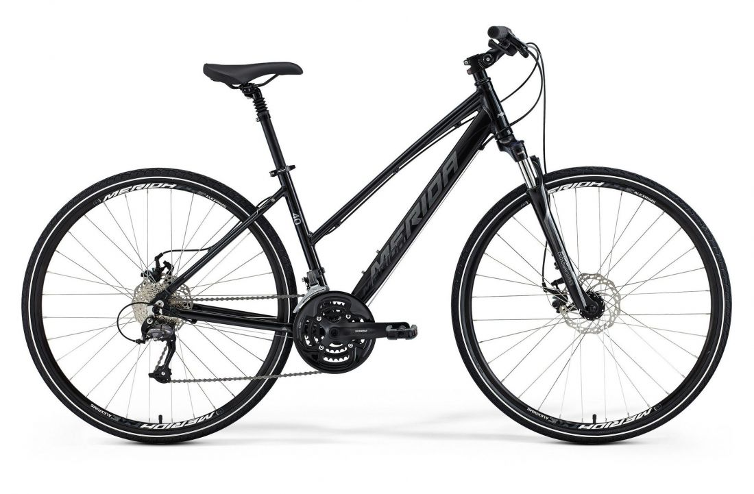 Женский велосипед Merida Crossway 40 MD Lady (2015)