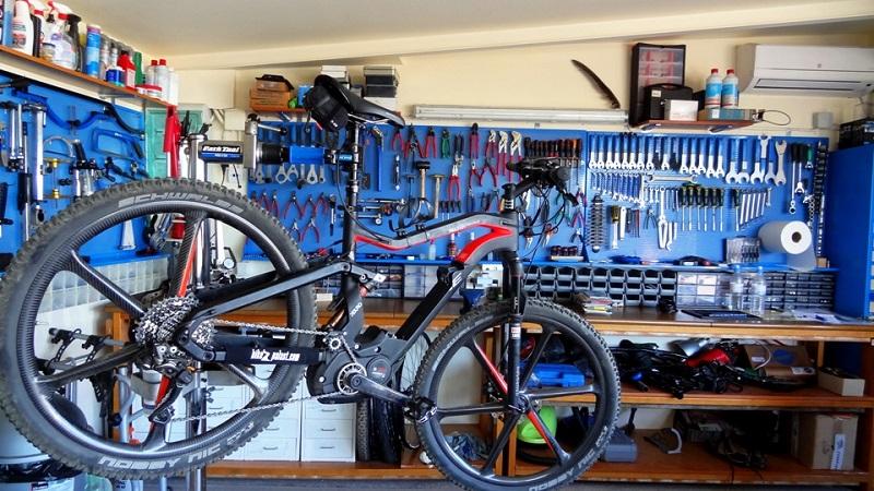 мастерская для ремонта велосипедов