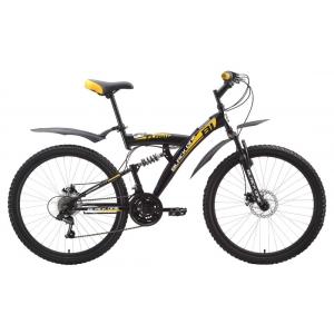 Двухподвес велосипед Black One Flash Disc (2015)