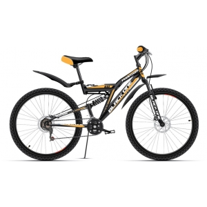 Двухподвес велосипед Black One Phantom Disc (2016)