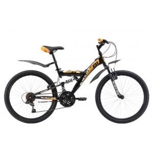 Подростковый велосипед Black One Ice FS 24 (2017)