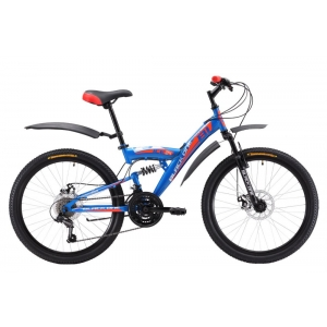 Подростковый велосипед Black One Ice FS 24 D (2017)