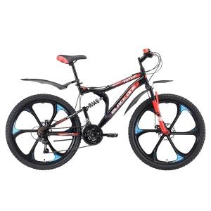 Двухподвес велосипед Black One Totem FS 26 D (2018)