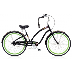 Круизер велосипед Electra Cruiser Sugar Skulls 7i Ladies (2017)