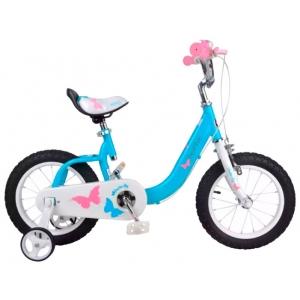 Детский велосипед Royalbaby Butterfly 14 (2018)