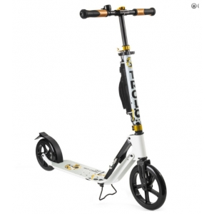 Самокат Trolo City Big Wheel 230 White