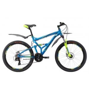 Двухподвес велосипед Stark Jumper 26.2 FS D (2017)