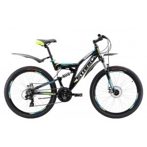 Двухподвес велосипед Stark Jumper 26.1 FS D (2017)