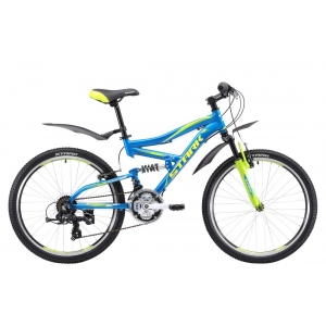 Подростковый велосипед Stark Rocket 24.2 FS D (2017)