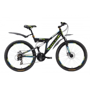 Двухподвес велосипед Stark Jumper Disc (2016)