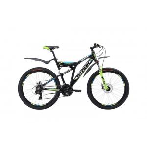 Двухподвес велосипед Stark Jumper 26.1 FS D (2018)