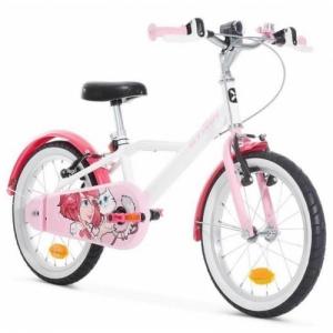 Детский велосипед B'twin 500 DOCTO GIRL 16 (2019)