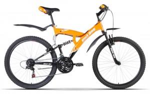 Двухподвес велосипед Black One Flash (2014)