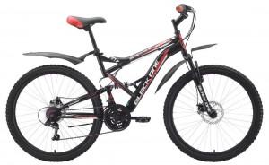 Двухподвес велосипед Black One Attack (2015)