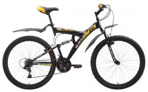 Двухподвес велосипед Black One Flash (2015)