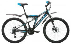 Двухподвесы велосипеды Black One