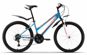 Велосипед подростковый Black One Cloud 24 (2016)