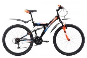 Двухподвес велосипед Black One Flash FS 26 (2018)