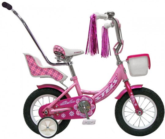 Детский велосипед Stels Echo 12 (2012)
