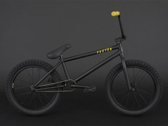 Велосипед BMX Flybikes Proton FC Bike 21 RHD (2018) Flat Black