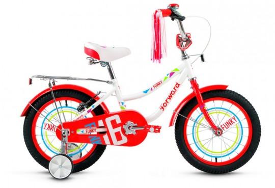 Детский велосипед Forward Funky 16 Girl (2017)