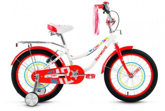 Детский велосипед Forward Funky 18 Girl (2017)