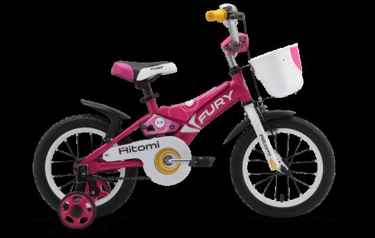 Детский велосипед FURY Hitomi 14 (2015)