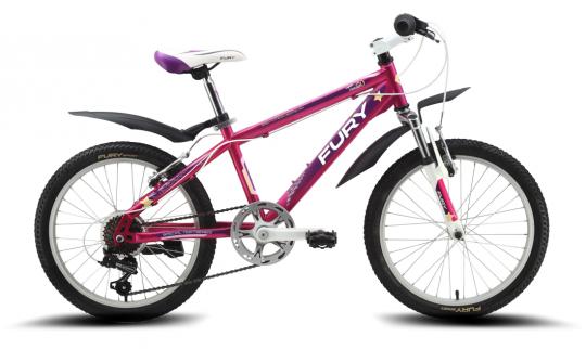Детский велосипед FURY Tamiko 20 (2015)