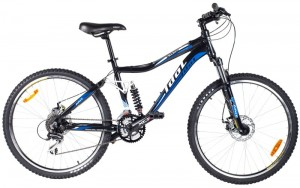 Двухподвес велосипед IDOL Wasabi (2012)