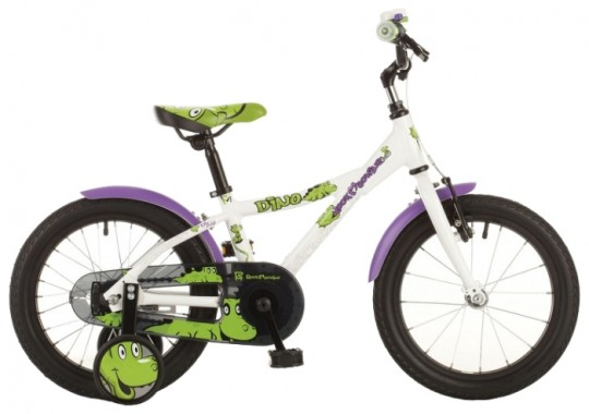 Велосипед детский Rock Machine Dino 16