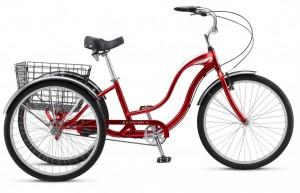 Грузовые трехколесные велосипеды Schwinn