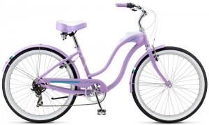 Женский круизер велосипед Schwinn Hollywood (2014) Lilac