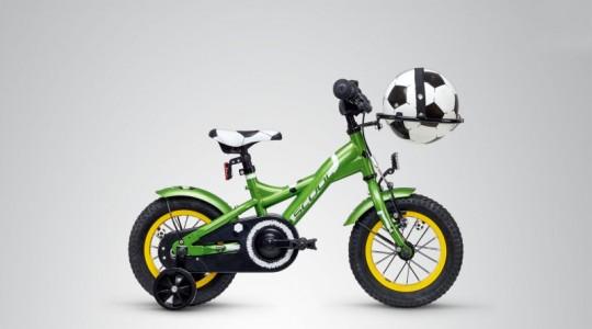 Велосипед детский Scool XXlite Soccer 12 1-S  (2019)