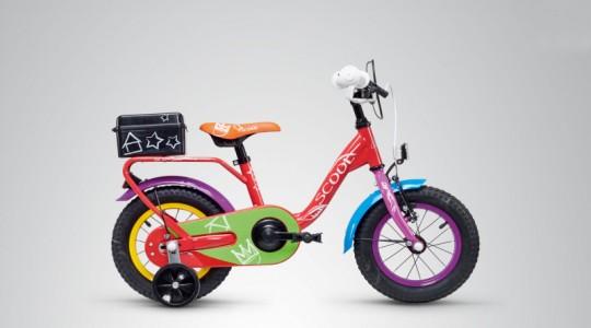 Велосипед детский Scool Nixe Chalk 12 1-S (2019)