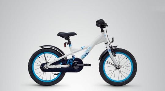 Велосипед детский Scool XXlite 16 steel (2019)