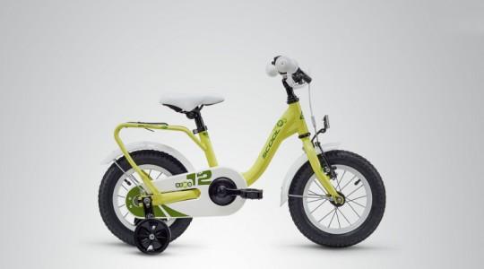 Велосипед детский Scool niXe 12 steel (2019)