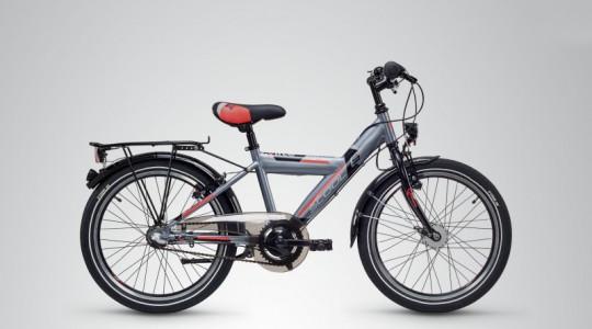 Велосипед детский Scool XXlite 20 3-S steel (2018)