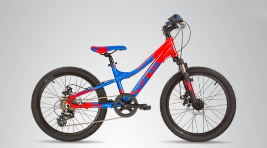Велосипед детский Scool TroX 20 7-S DISC (2018)