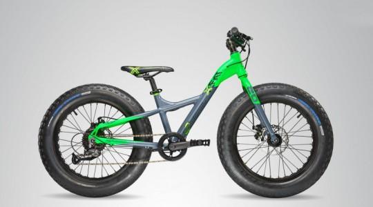 Велосипед детский Scool XXFAT 20 9-S   (2018)