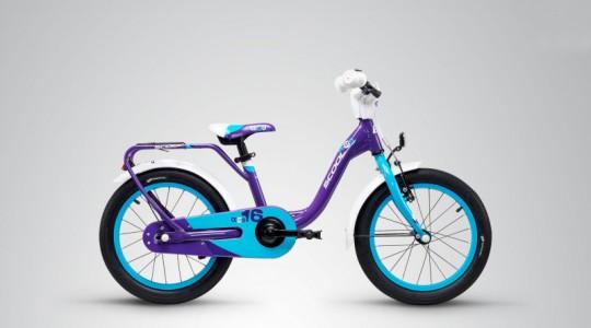 Велосипед детский Scool niXe 16 alloy  (2019)