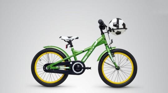 Велосипед детский Scool XXlite 18 soccer (2019)