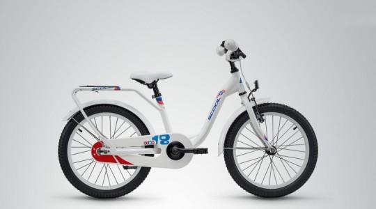 Велосипед детский Scool niXe 18 steel (2018)