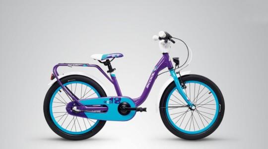 Велосипед детский Scool NiXe Street 18 3-S   (2019)