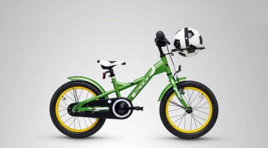 Велосипед детский Scool XXlite 16 soccer (2019)