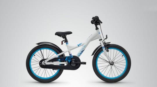 Велосипед детский Scool XXlite 18 steel (2019)