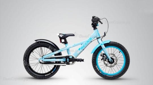 Велосипед детский Scool Faxe 16, 3 alloy (2019)
