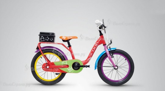 Велосипед детский Scool niXe 16 chalk (2019)