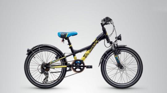 Велосипед детский Scool XXlite 20 7-S steel (2019)