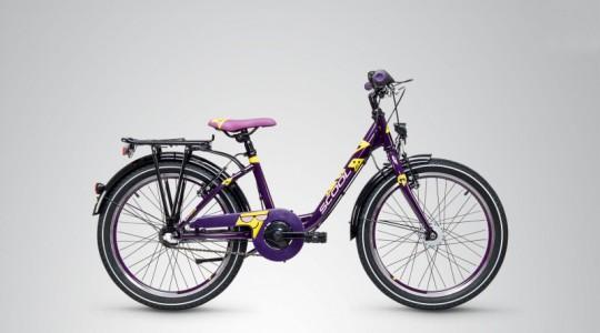 Велосипед детский Scool Emoji Wave 3-S (2019)